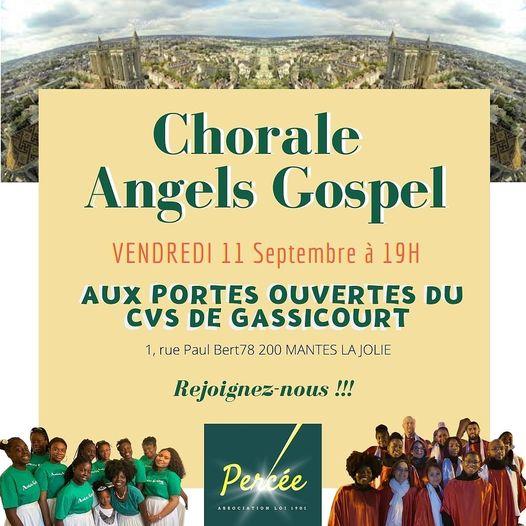 Concerts avec Angels Gospel