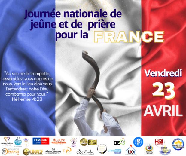 Journée nationale de prière pour la FRANCE